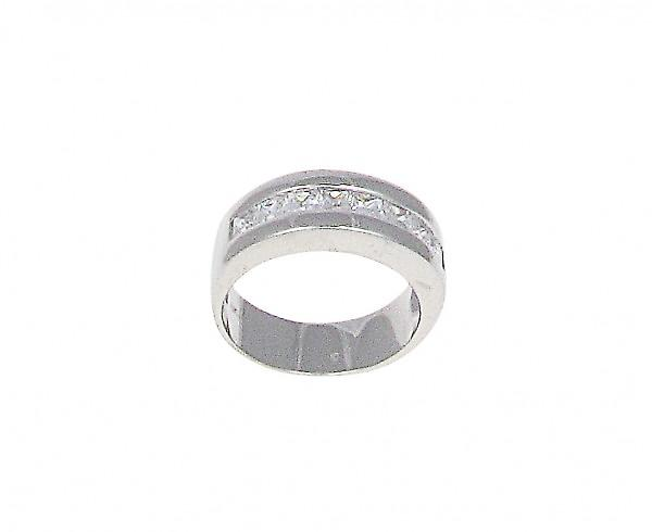 Cavendish français Hoops of Style Silver Ring