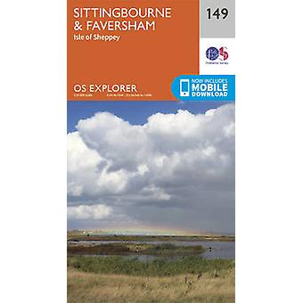 Sittingbourne and Faversham by Ordnance Survey - 9780319243428 Book