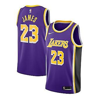 Nike Nba Los Angeles Lakers Lebron James Swingman Jersey - Statement Edition