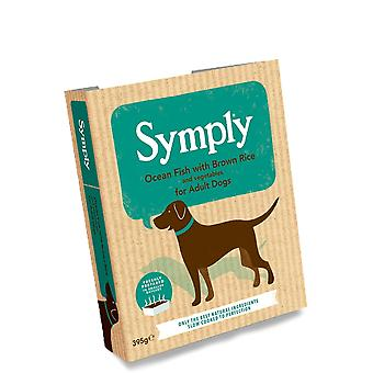 Symply Ocean Fish & Brown Rice - Adult Dogs 395G Wet Trays Single Pack