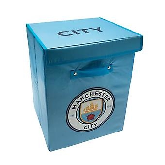 Manchester City FC fabric oppbevaringsboks