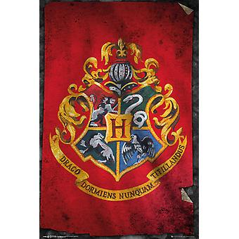 Harry Potter Hogwarts Flag Maxi Poster 61x91.5cm