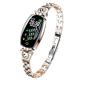 H8 Activity bracelet with crystals-rose gold