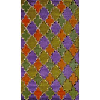Pierre Cardin design matta i akryl Lila/Orange