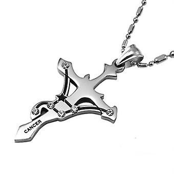 Stainless Steel Cancer Pendant