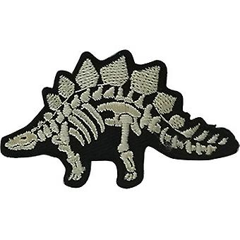 Patch - Dinosaurs - X- ray Stegosaurus Icon-On p-dsx-4807