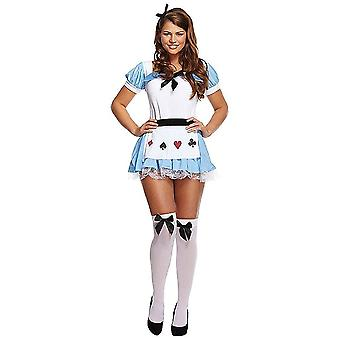 Henbrandt Adult Ladies Alice Fancy Dress Costume (Standard Size)