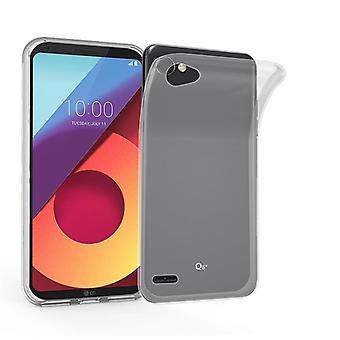Cadorabo Case for LG Q6 Case Cover - Mobile Phone Case made of flexible TPU silicone - Silicone Case Protective Case Ultra Slim Soft Back Cover Case Bumper