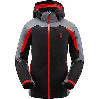 Spyder COPPER hombres Gore-Tex Primaloft chaqueta de esquí negro