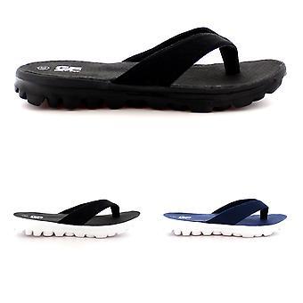 Herre let tå Post Flip Flop Sport Sommer sandaler travesko UK 6-14