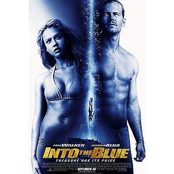 Into The Blue Original Movie Poster - Double Sided Regular