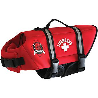 Paws Aboard Neoprene Doggy Life Jacket Extra Large-Red NEOXL-R1600