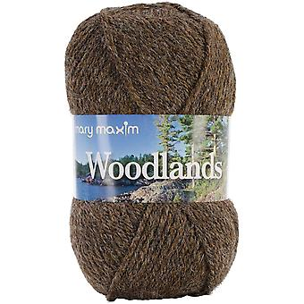 Woodlands Yarn Brown Heather 478 5