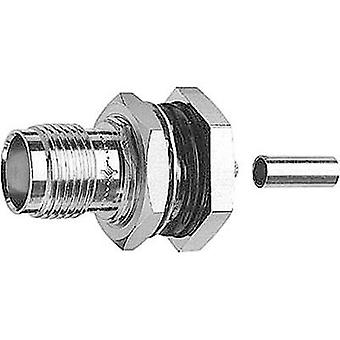 TNC connector Socket, build-in 50 Ω Telegärtner J01011A0060 1 pc(s)