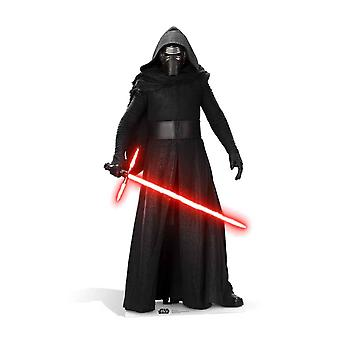 Kylo Ren Star Wars The Force ontwaakt kartonnen uitsnede / Standee / Standup