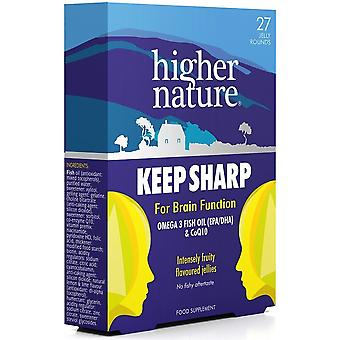 Higher Nature Keep Sharp 27 jellies