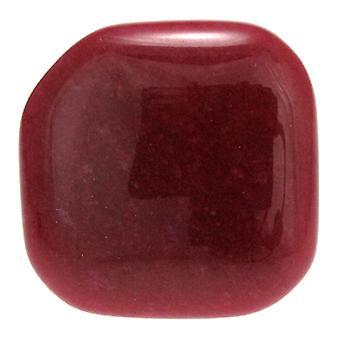 Lola Rose Togo estirable anillo cuarcita de ciruela roja