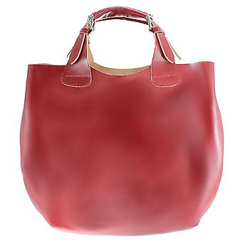 CTM large bag real leather women bag made in italy