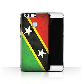 STUFF4 Case/Cover for Huawei P9/Saint Kitts & Nevis/Americas Flag