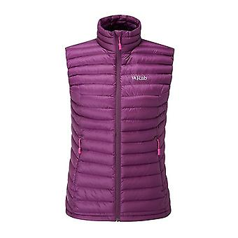 Rab Womens Microlight Vest Berry (Size UK 10)