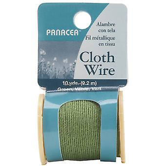 Cloth Covered Spool Wire 32 Gauge 30'-Green 600SW-60032