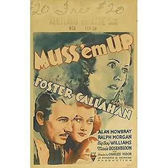 MUSS em Up постер фильма (11 x 17)