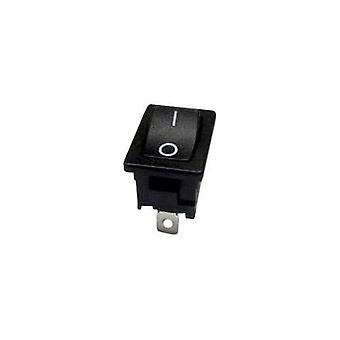 Toggle switch 250 Vac 6 A 1 x Off/(On) SCI R13-66F-02 momentary 1 pc(s)