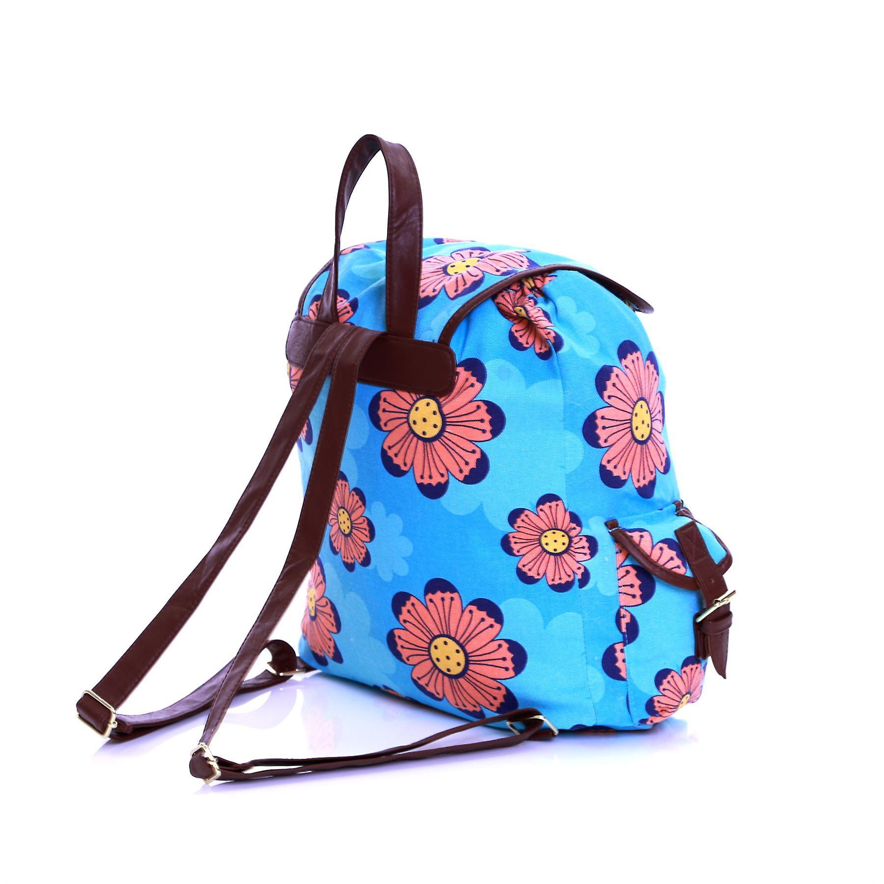 Karabar Picardy Cotton Backpack, Flowers