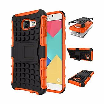 Hybrid case 2 piece SWL outdoor Orange Samsung Galaxy A5 2016 A510F
