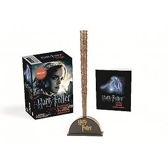 Harry Potter Hermione's Wand and Sticker Kit (Accessory) by Running Press