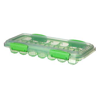 Sistema Large Klip It Ice Cube Tray, Green