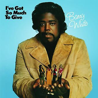 Barry White - I'Ve Got So Much to Give [Vinyl] USA import