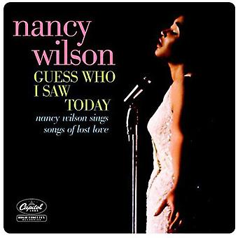 Nancy Wilson - Guess Who I Saw Today [CD] USA import