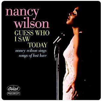 Nancy Wilson - Indovina chi ho visto oggi [CD] USA importare