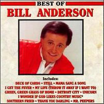 Bill Anderson - Best of Bill Anderson [CD] USA import