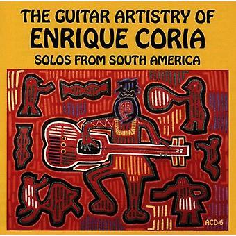 Enrique Coria - Guitar artisteri-soloer fra Sou [CD] USA importerer