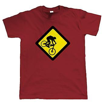 Abfahrt, Herren Mountain Bike T-Shirt