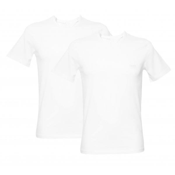 Hugo Boss 2-Pack Loose Fit Crew-Neck T-Shirts, White