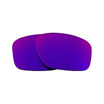 Best SEEK Polarized Replacement Lenses for Oakley SLIVER Purple Mirror