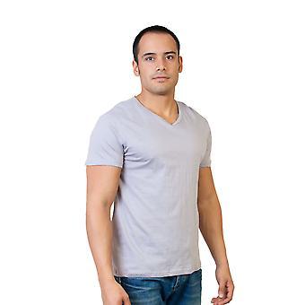 Agiato mænds grundlæggende V hals T-Shirt