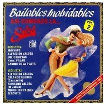 Bailables Inolvidables - Vol. 2-Bailables Inolvidables [CD] USA importerer