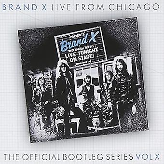 Brand X - Live in Chicago 1978 [CD] USA import