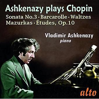 Vladimir Ashkenazy (Piano) - Chopin: Etudes Op. 10 Sonata No. 3 Wal [CD] USA import