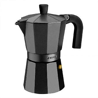 Monix Aluminum coffee  Vitro Noir  3 cups
