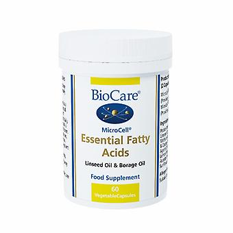 Biocare MicroCell Essential Fatty Acids (linseed oil & GLA), 60 vegi capsules