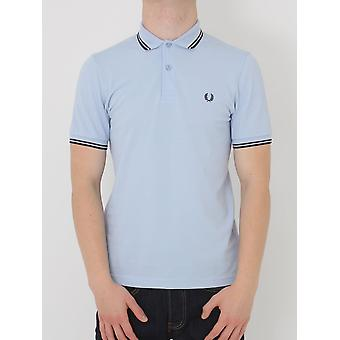 Fred Perry doble punta Polo Classic - humo luz