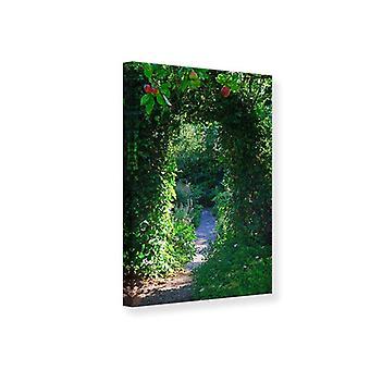 Canvas Print In Paradise Garden