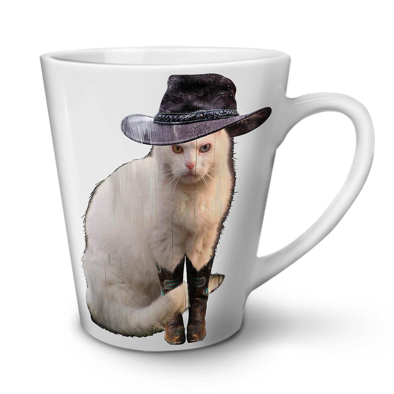 De Café Chapeau Chat Blanc 12 OzWellcoda Céramique Mister Nouveau Mignon Mug Latte En Thé vN8n0wmyPO