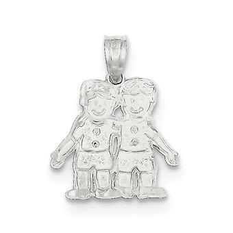 Sterling Silver Boys Charm
