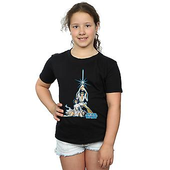 Star Wars Girls Luke and Leia Character T-Shirt